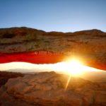 Sunrise, Mesa Arch, Canyonlands National Park, Moab, UT
